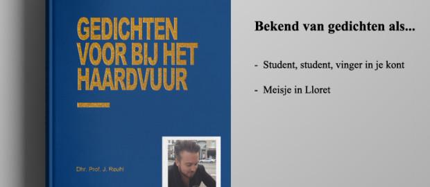 Dhr. Prof. J Reuhl brengt dichtbundel uit